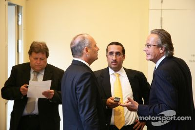 World Motorsport Council Hearing, McLaren vs Ferrari, Paris
