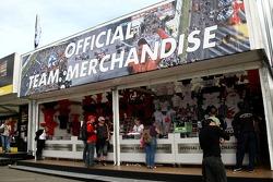 Merchandise stands