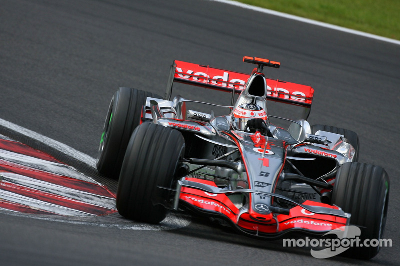 Fernando Alonso, McLaren Mercedes, MP4-22 (2007)
