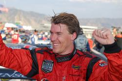 2007 Grand-Am Rolex Series DP champion Alex Gurney celebrates