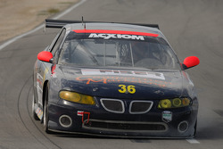 Tire problem for the #36 Competition Marketing Motorsports Pontiac GTO: Nick DiMeo, Peter Doane