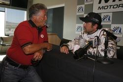 Hyper Sport press conference: Mario Andretti and Patrick Dempsey