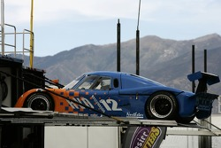 RVO Motorsports Pontiac Riley at the back of its hauler