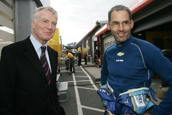 Max Mosley, FIA President and Alain Menu, Team Chevrolet, Chevrolet Lacetti