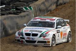 Alex Zanardi, BMW Team Italy-Spain, BMW 320si WTCC dans le bac a gravier