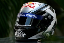 David Coulthard, Red Bull Racing, Helmet in memory of the late Colin McRae