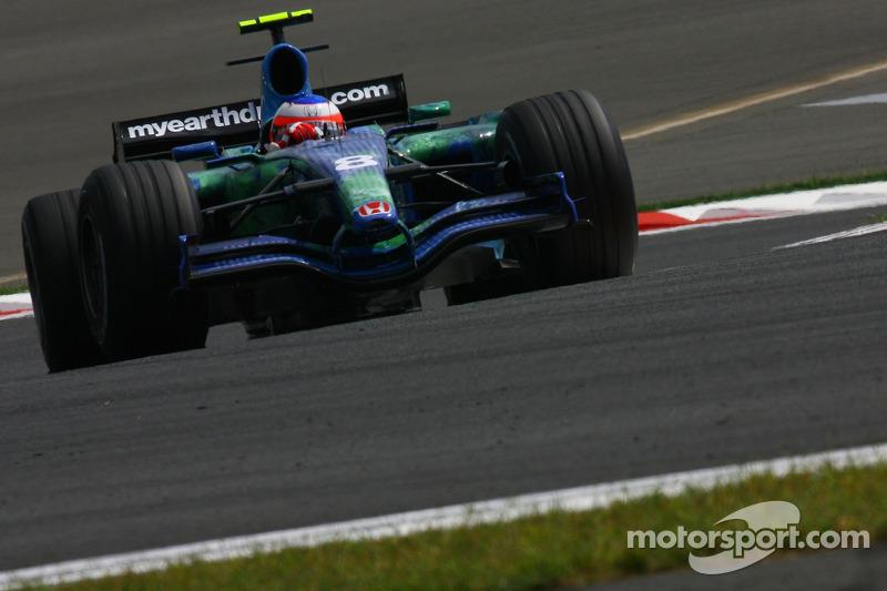 #8: Rubens Barrichello, Honda Racing F1 Team, RA107