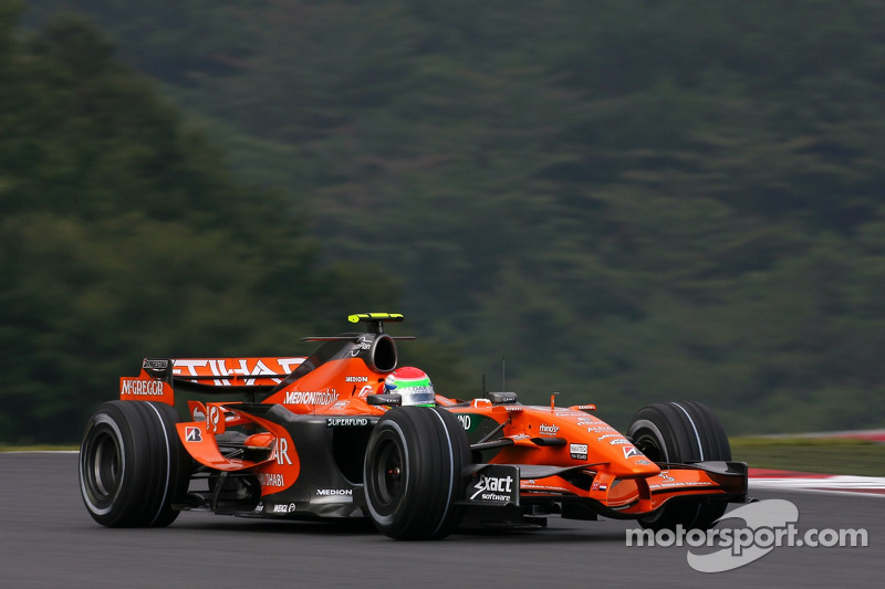 #21: Sakon Yamamoto, Spyker F1 Team, Spyker F8-VII