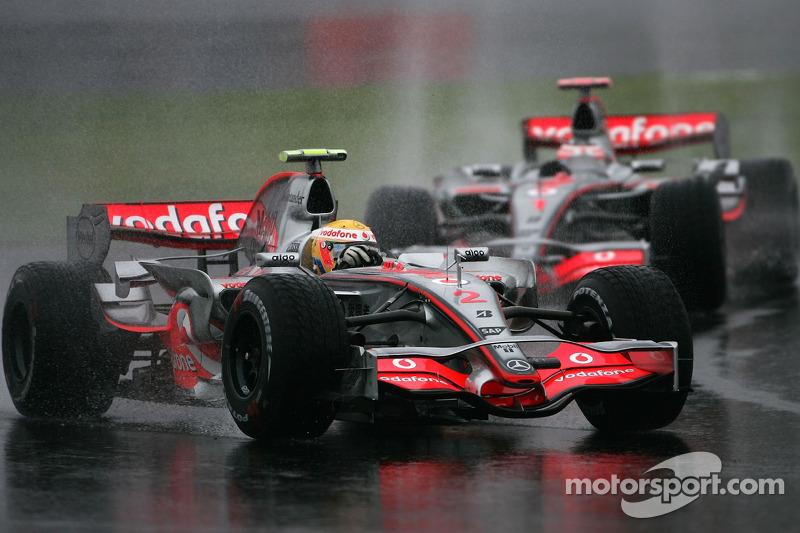 2007 год. Льюис Хэмилтон, McLaren
