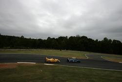 #27 Lista Doran Racing Maserati MC-12-C: Didier Theys, Fredy Lienhard, Andrea Bertolini, #6 Penske Racing Porsche RS Spyder: Sascha Maassen, Ryan Briscoe, Emmanuel Collard