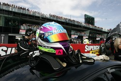 Marcus Marshall's helmet (Jack Daniel's Racing Commodore VE)