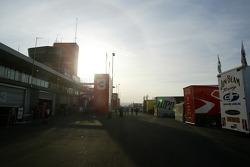 Stand de Bathurst tôt le matin