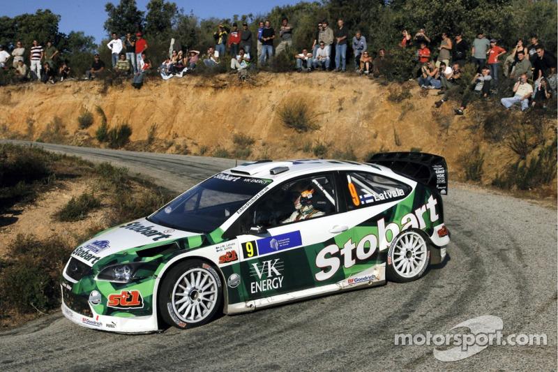 Ярі-Матті Латвала і Мікка Анттіла, Stobart M-Sport Ford Rally Team, Ford Focus WRC