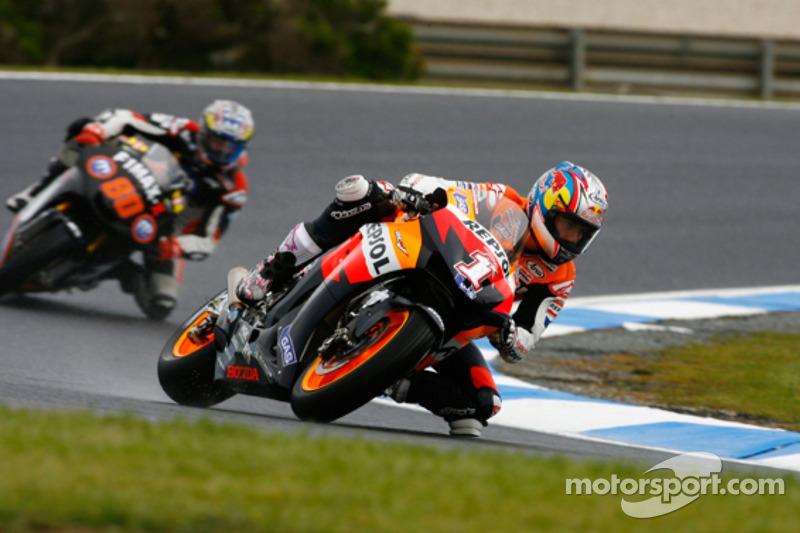 Última quebra da Honda tinha sido na Austrália em 2007 e tirou Nicky Hayden da corrida