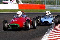 #21 MULLEN Peter IRL, 1960 OSCA, #59 HALL David GB, 1961 BMCD MK2
