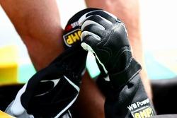 Will Power doing a speed comparison test (Team Australia)
