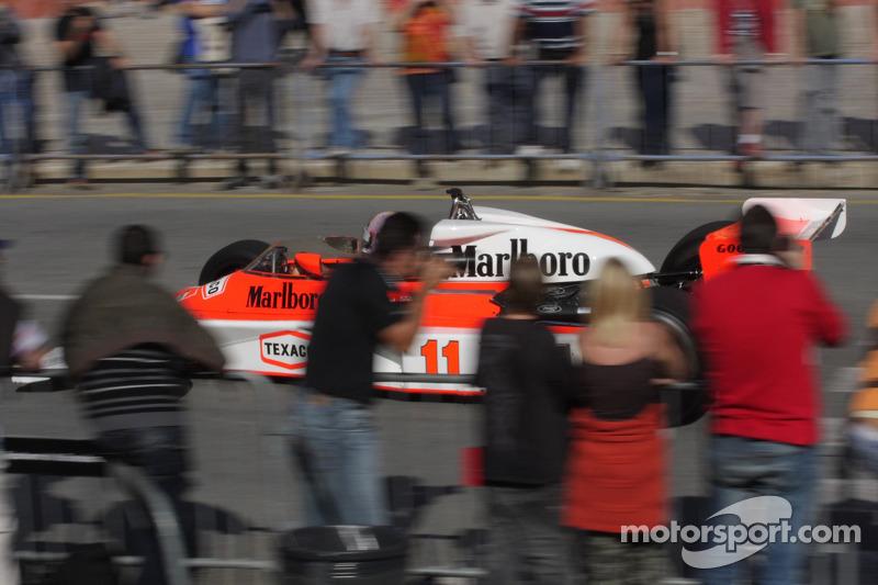 McLaren M23, James Hunt