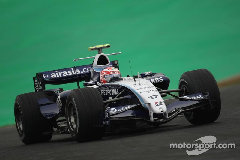 #17: Казукі Накадзіма, Williams F1 Team, FW29