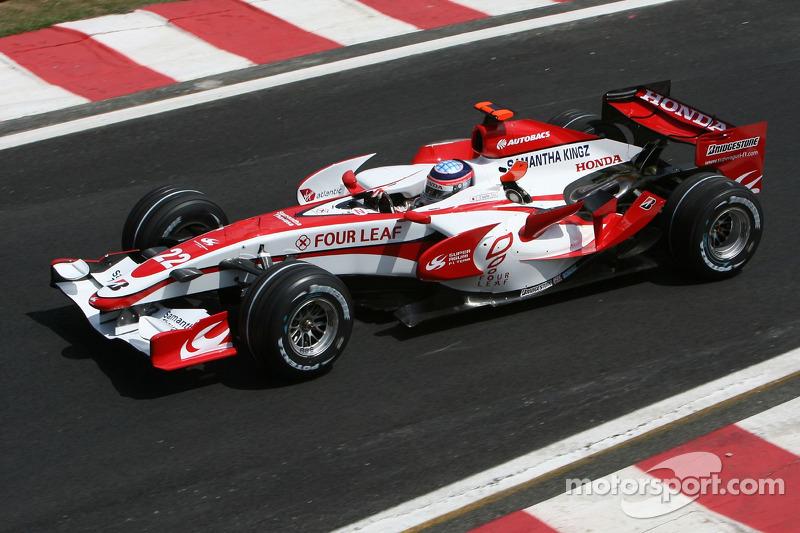 #22: Takuma Sato, Super Aguri F1, SA07