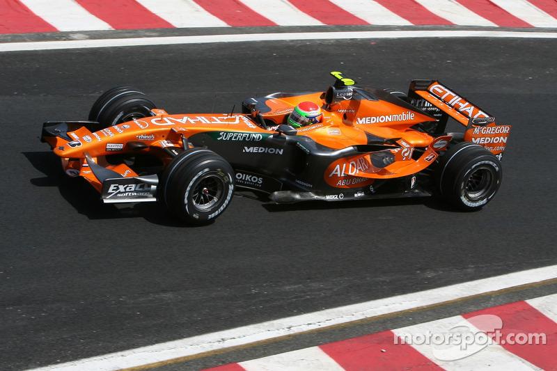 Sakon Yamamoto, Spyker F1 Team, F8-VII-B