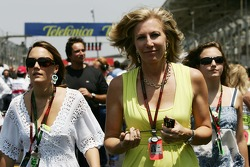 Lisa Dennis, Wife of Ron Dennis and left the daughter of Ron Dennis