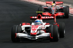 Энтони Дэвидсон, Super Aguri F1 Team, Льюис Хэмилтон, McLaren Mercedes