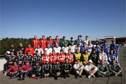 FIA-GT drivers photoshoot