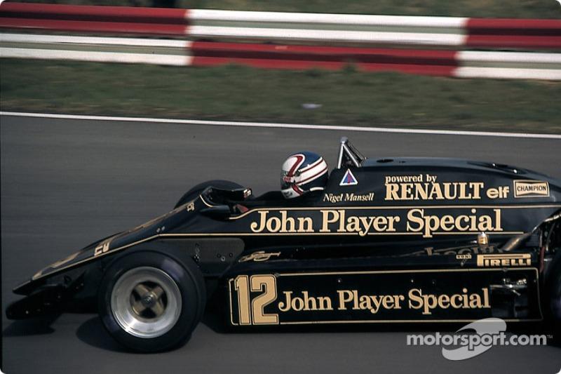 Nigel Mansell, Lotus-Renault 93T