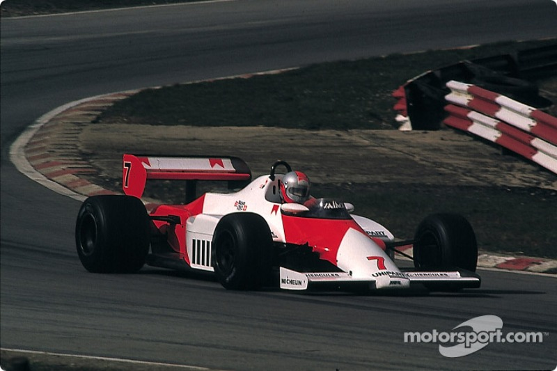 1983 : McLaren MP4/1C, à moteur Ford Cosworth