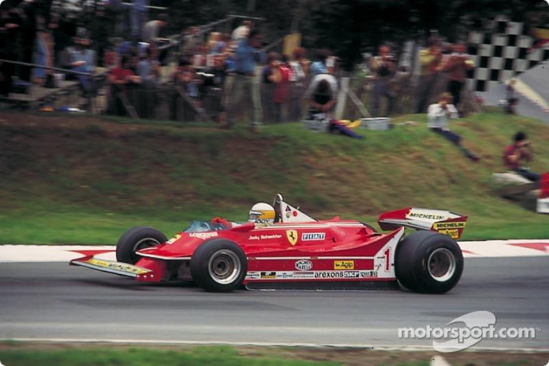 Jody Scheckter: campeón en 1979, 10 victorias