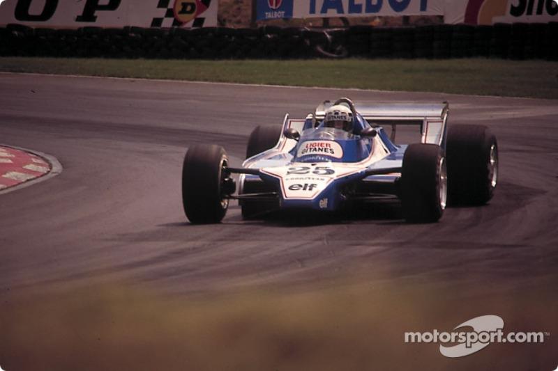 Didier Pironi, Ligier JS11 Ford