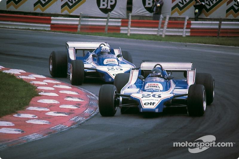 No GP de Paul Ricard de 1980, Jacques Laffite tinha tudo para vencer, largou da pole e abriu 13 segundos sobre Alan Jones, mas foi traído pelo desgaste dos pneus e acabou em terceiro.