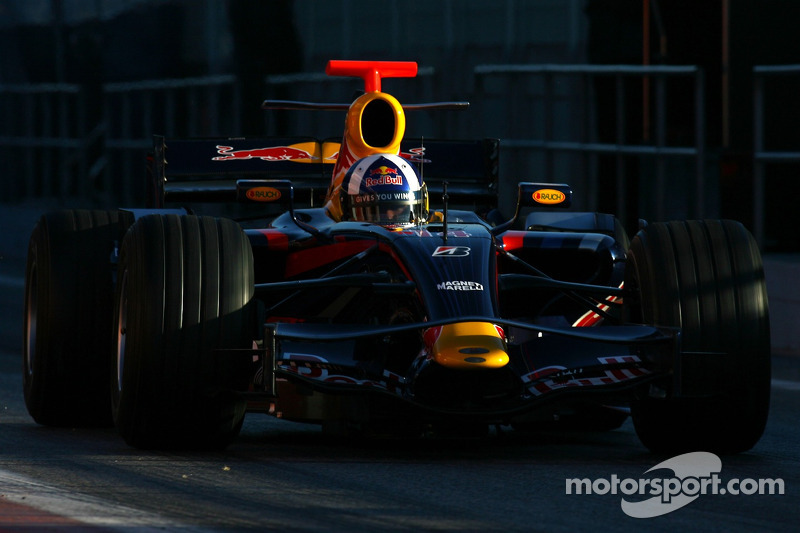 #14: David Coulthard, Red Bull Racing, RB3