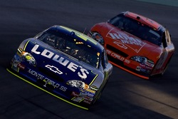 Jimmie Johnson and Tony Stewart