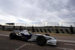BMW Sauber F1.07 test