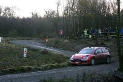 Daniel Sordo y Marc Marti, Citroen Total WRT, Citroen C4 WRC