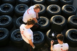 Tyres, McLaren Mercedes