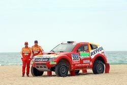 Repsol Mitsubishi Ralliart Team: Nani Roma y Lucas Cruz Senra