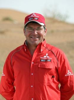 Team Mitsubishi Ralliart Thailand: Thierry Lacambre