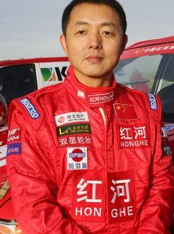 Team Dessoude presentation in Le Galicet: Hua Qingxian