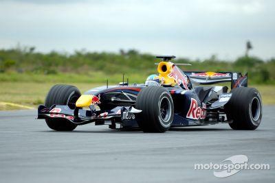 Red Bull F1 Showcar en México