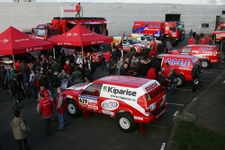 Team Dessoude presentation in Saint Lo: overall view of the presentation
