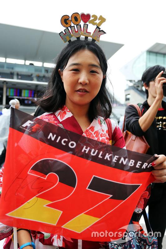 Fã de Nico Hulkenberg, Sahara Force India F1