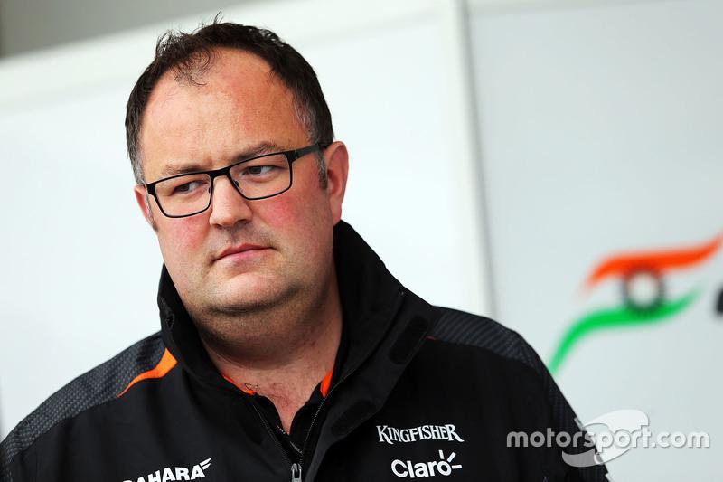 Tom McCullough, Sahara Force India F1 Team, Chefingenieur