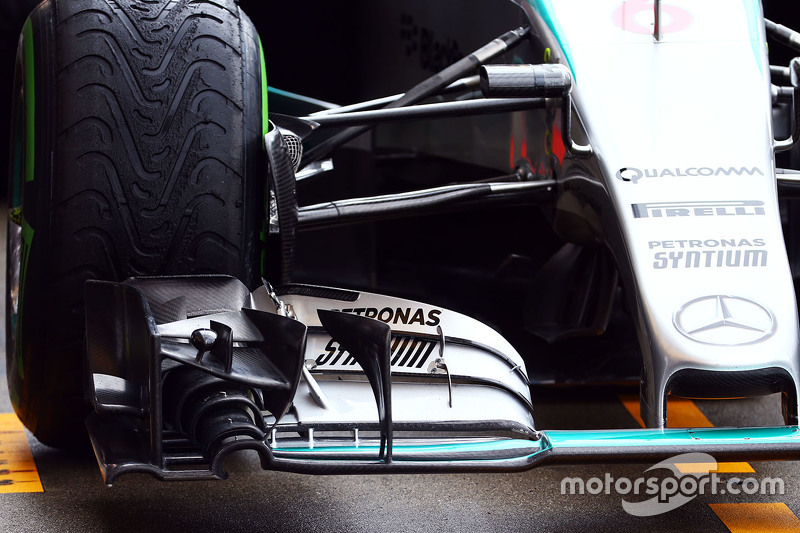 Ніко Росберг, Mercedes AMG F1 W06 переднє крило