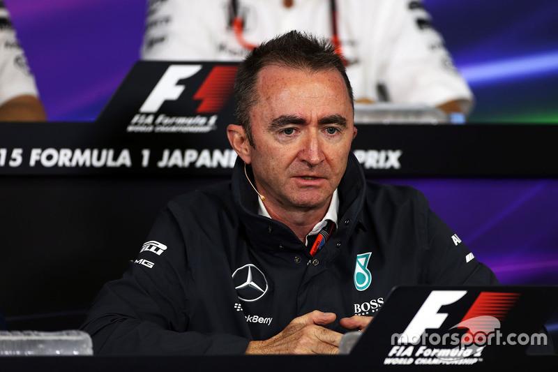 Падді Лоу, Mercedes AMG F1 Виконавчий директор на пресс-конференції FIA