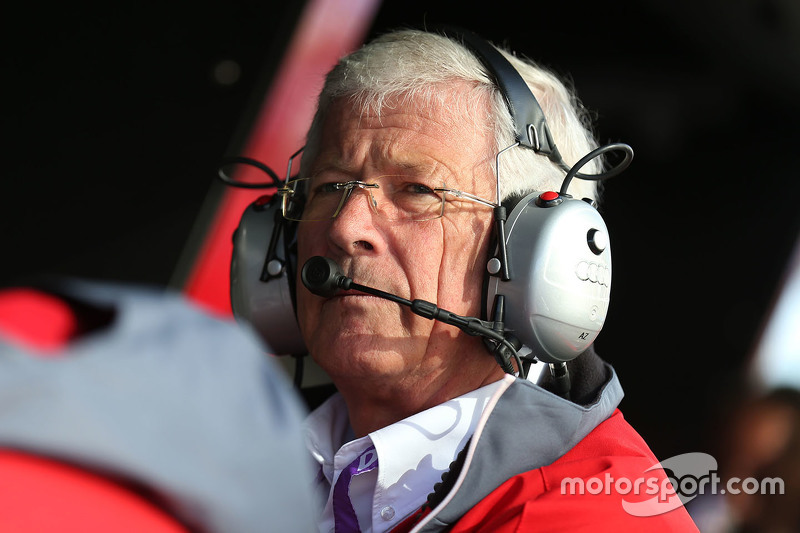Arno Zensen, head of Audi Sport Team Rosberg