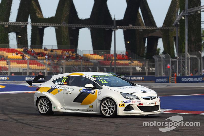 Fernando Monje, Opel Astra OPC, Campos Racing