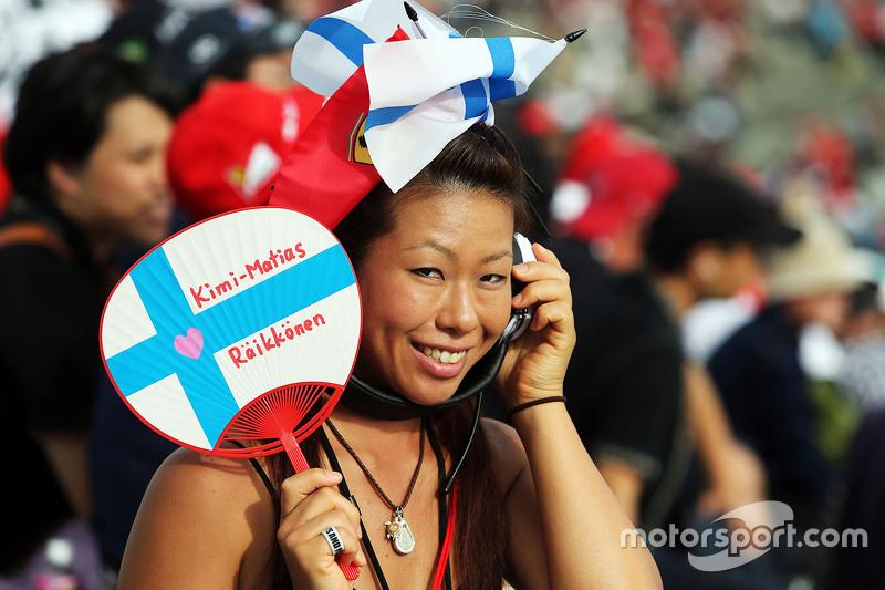 A Kimi Raikkonen, Ferrari fan