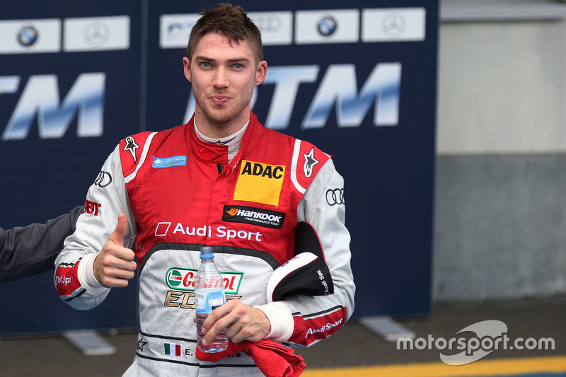 Second place Edoardo Mortara, Audi Sport Team Abt Audi RS 5 DTM